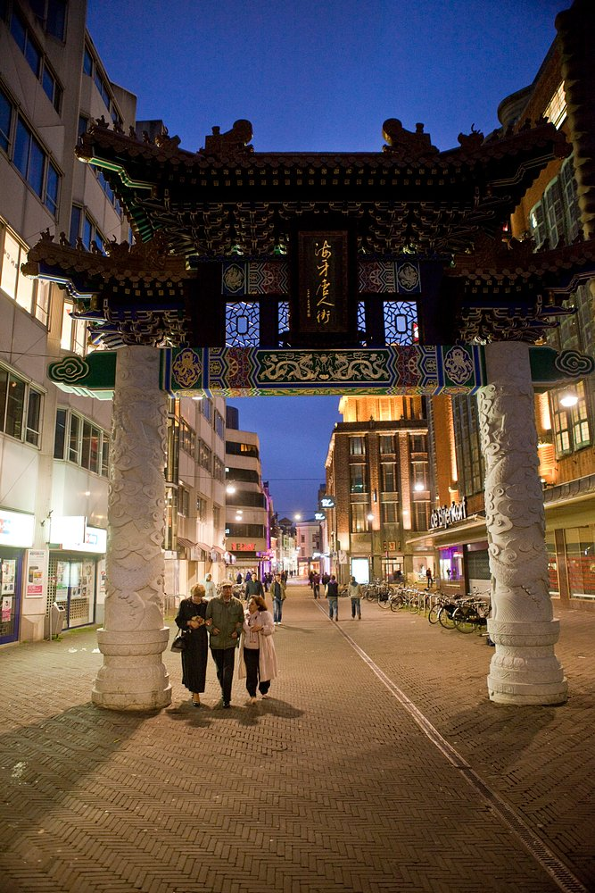 Netherlands, Den Haag. Chinatown